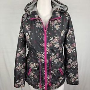 Mossimo Supply Co floral anorak